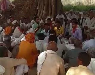 गांव की गली गली गूंजी होली मिलन समारोह कार्यक्रम की आवाज