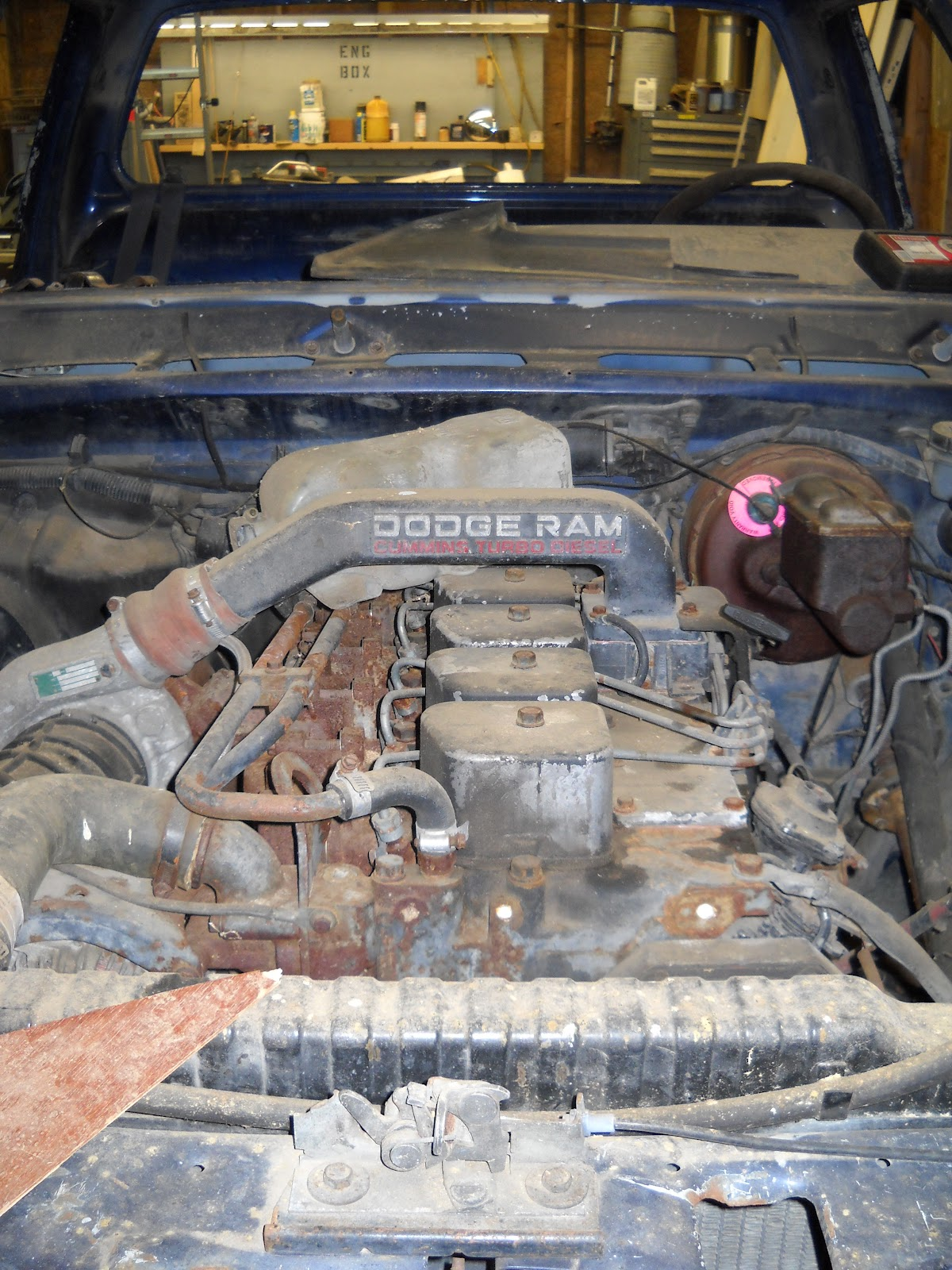 Dodge Ram Project: 1991 Dodge Ram D350 Cummins Customization - Part 1