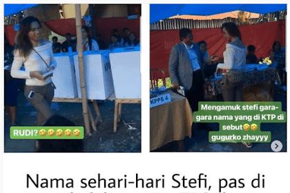 Seorang Waria : Rudi alias Stefi Ngamuk Saat Nama Aslinya Dipanggil oleh Petugas KPPS untuk Mencoblos