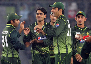 Pakistan tour of Bangladesh Only T20I Match 2011