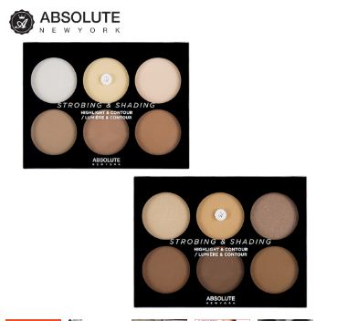 Bảng tạo khối Absolute NewYork Highlighter and contour Palette