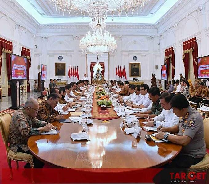 Presiden Jokowi Pimpin Sidang Paripurna Pertama Kabinet Indonesia Maju