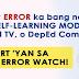 I-report ang mga makikitang error sa Modules, DepEd TV, o DepEd Commons