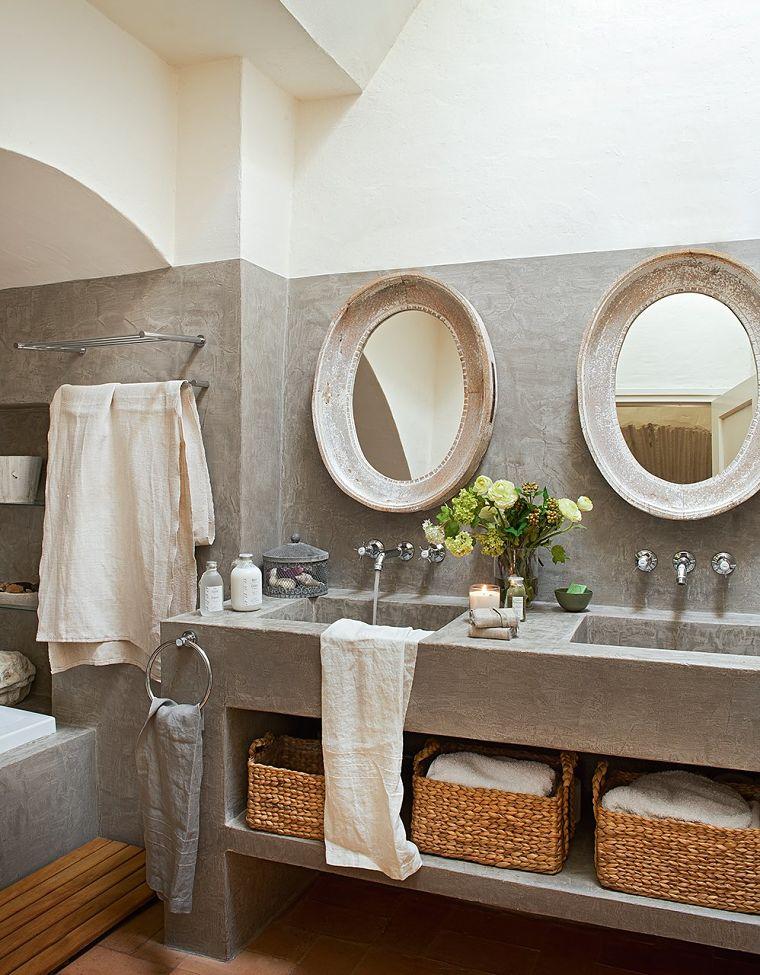 PUNTXET Un antiguo pajar rehabilitado con estilo provenzal #baños