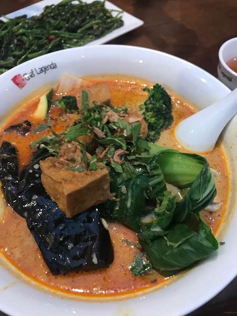 Chef Lagenda, Hawthorn, vegetarian curry laksa