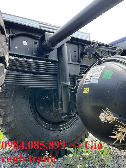 Hệ thống treo Hyundai 110XL thùng kín