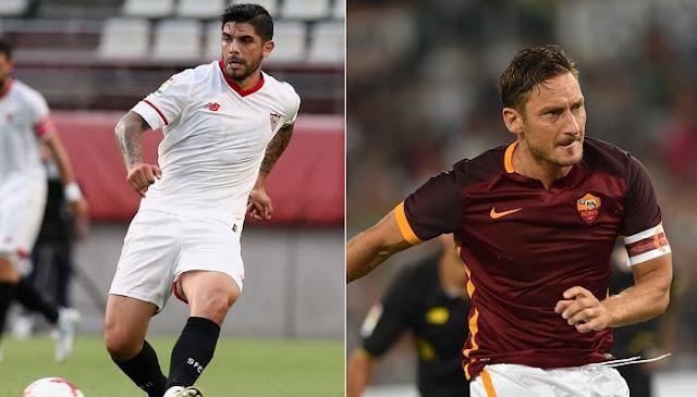 Ver partido Sevilla vs Roma en vivo