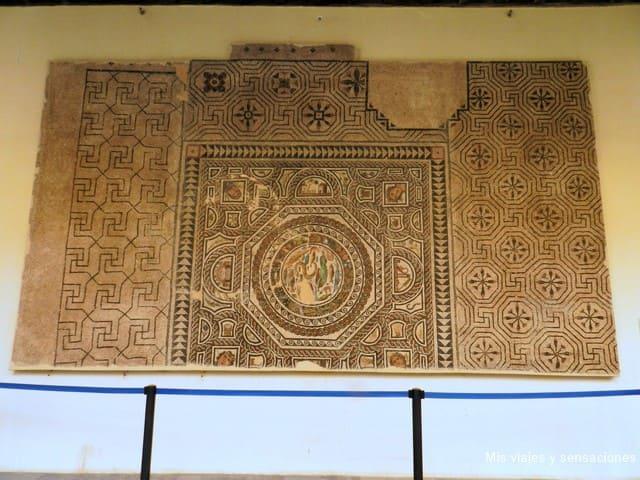 Mosaico, romano, museo santa cruz, Toledo