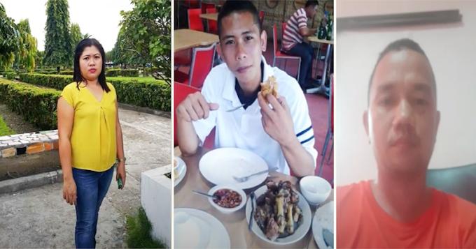 Misis at helper nito nahuli ng anak na may ginagawang kababalaghan