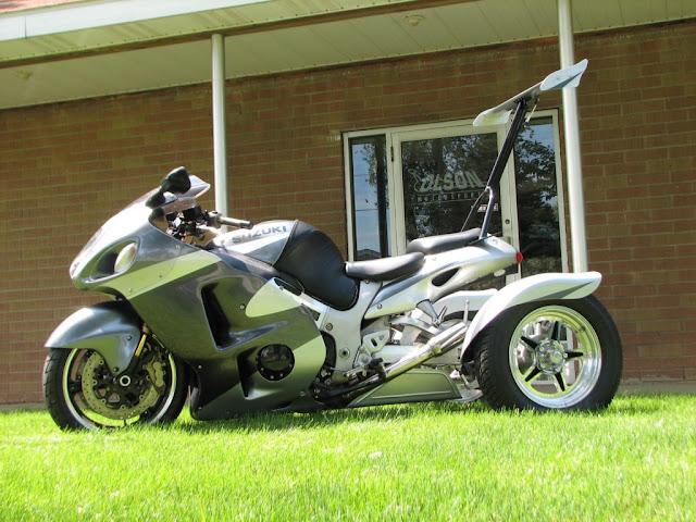 Suzuki Hayabusa Trike Kit with Wings Best