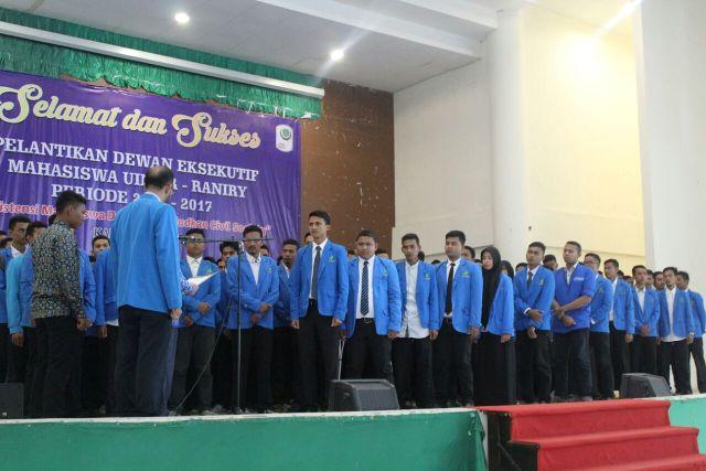 DEMA UIN Ar-Raniry Periode 2016-2017 Resmi Di Lantik