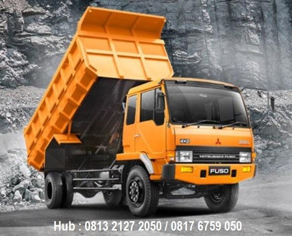 paket kredit mitsubishi fuso fm 517 hs 6 ban 220ps dump truck 2019