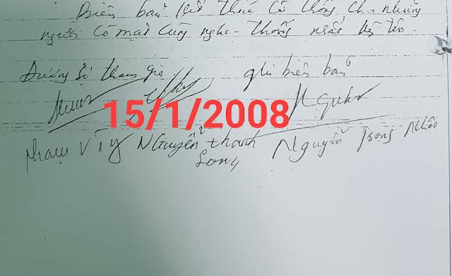 Người ký bút lục 262 - anh Long chồng chị bán hoa quả đã chết