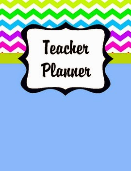 Teacher Planner Cover Pages