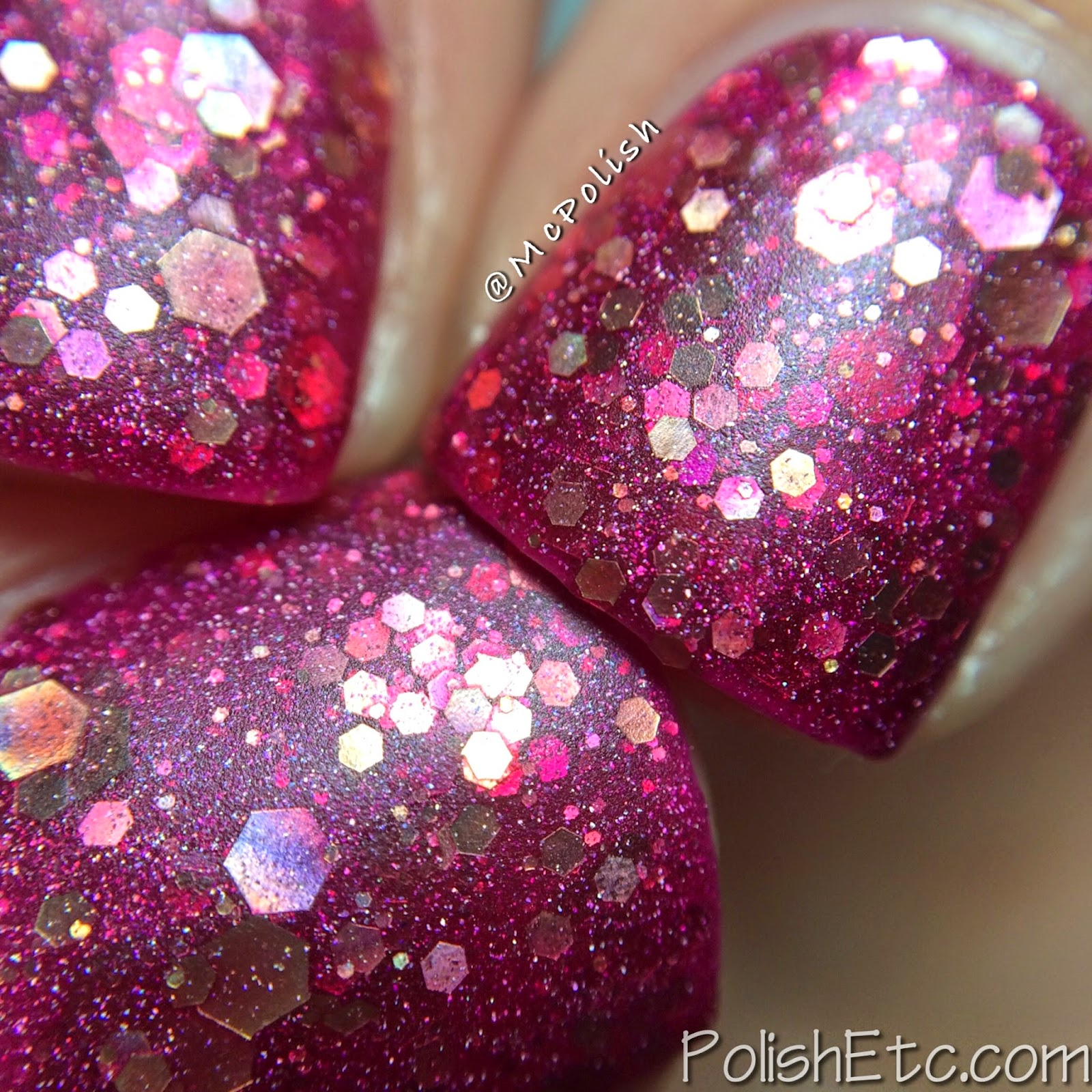 Nayll custom nail polishes - McPolish - Dawn - Matte Macro