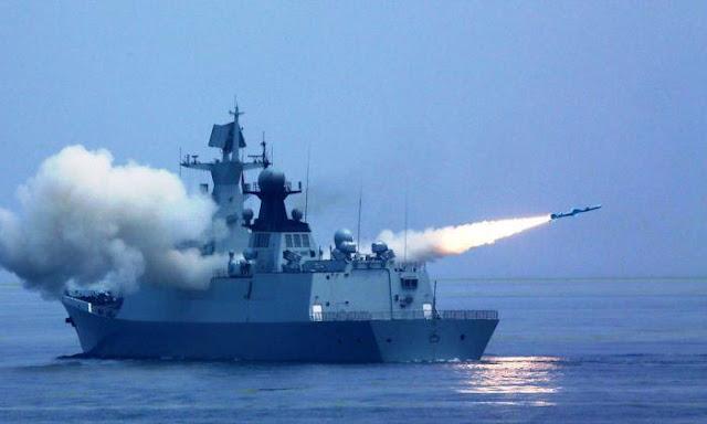 Kapal fregat tipe 054 China
