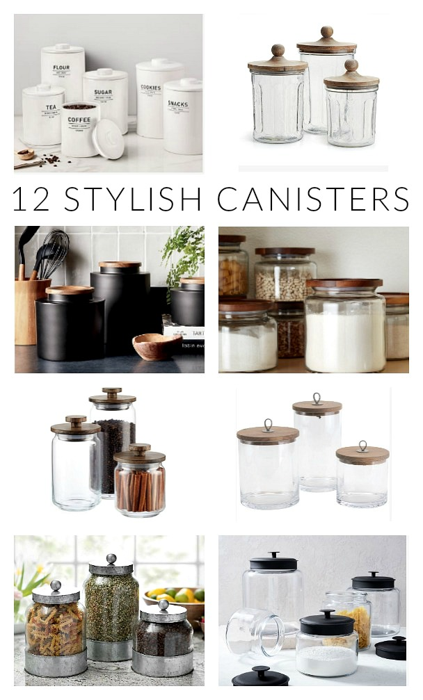 Friday Favorites: 12 Stylish Canister Sets | Little House of ...