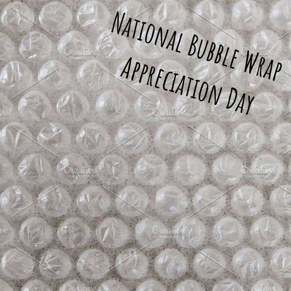 National Bubble Wrap Appreciation Day Wishes For Facebook