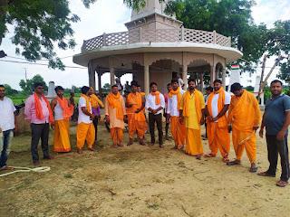 सुन्दर काण्ड का आयोजन, राममय हुए ग्रामवासी | #NayaSaveraNetwork