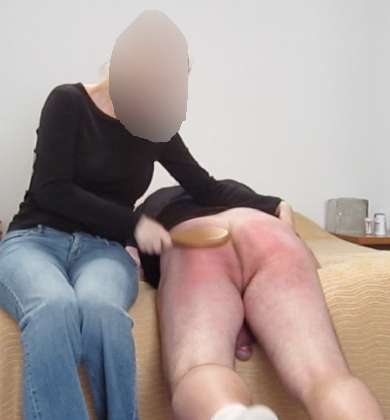 image Ejaculated during spanking gay a well