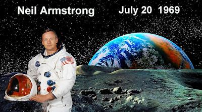 Σαν σήμερα το 1969 ο Νιλ Άρμστρονγκ πατάει... πόδι στην Σελήνη!