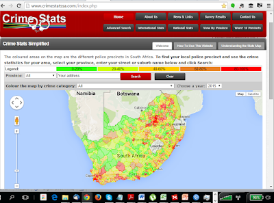 South African Crime Stats - demonstrating the potential of open data