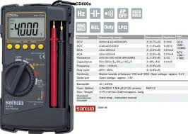 Jual Multimeter Digital Sanwa Cd800a Harga Murah