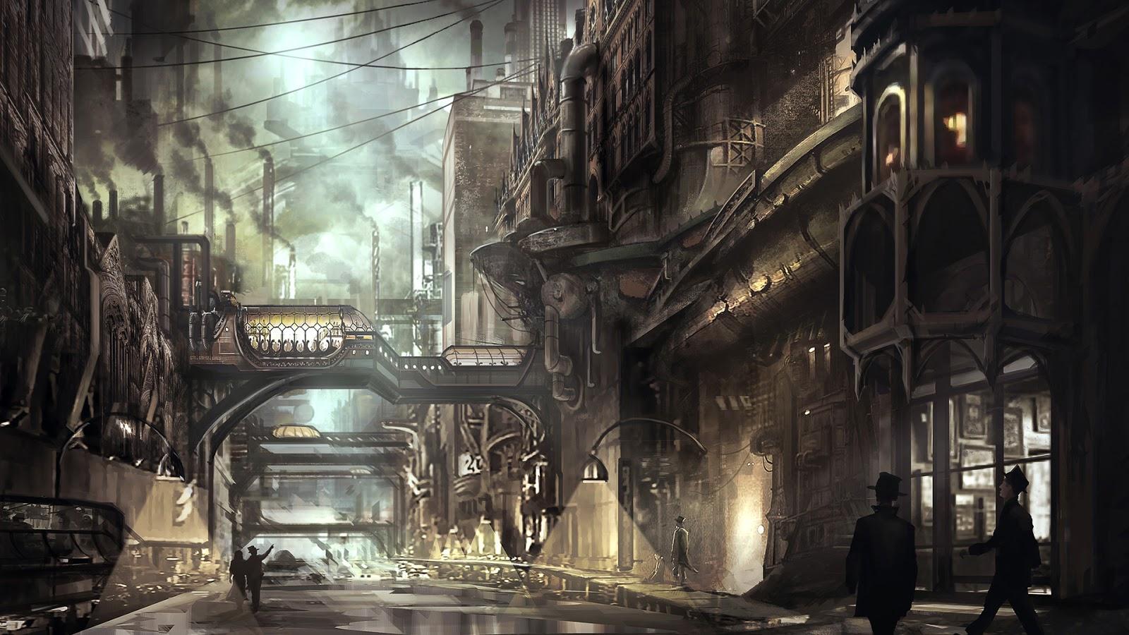 Steampunk Art In 3D Modeling - Blog | CGTrader  |Victorian Steampunk Concept Art