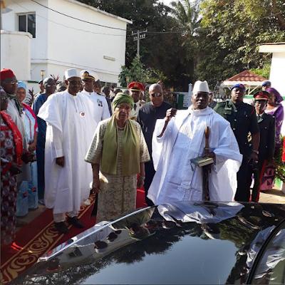 President, Yahya Jammeh