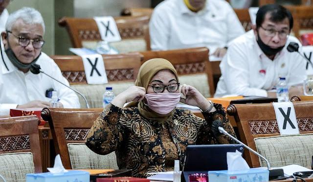Kenapa UU Ciptaker Buru-Buru Disahkan? Menaker: Banyak Anggota DPR Kena Corona