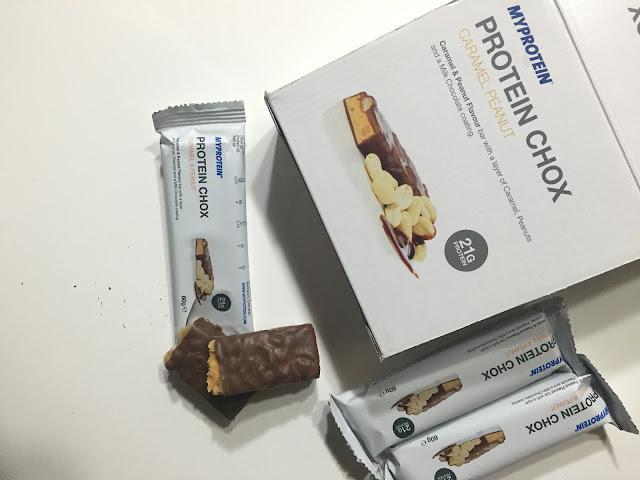 myprotein protein chox barrette proteiche
