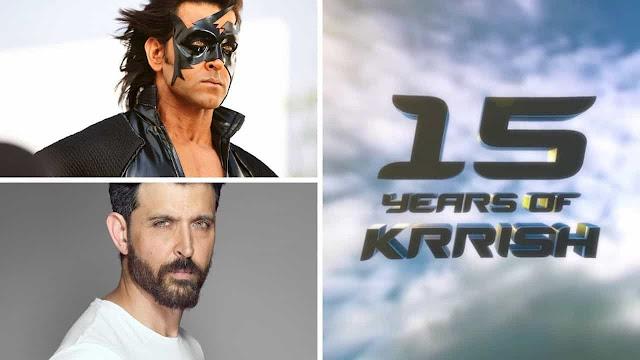 Super Hero Hrithik Roshan 'Krrish 4'