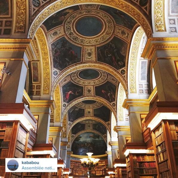bibliothèque de l'Assemblée Nationale