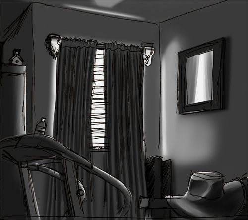 First Off, This Is My Last Class Where The Teacher Wanted Us Doing More  Interior Shots. He Mostly Wanted Me To Work On Values, Comp, ...