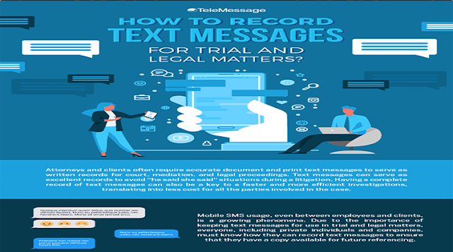 How to Record Text Message for Trial and Legal Matters?