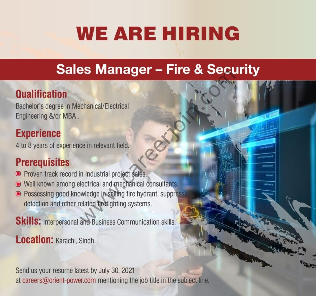 Orient Energy Systems Pvt Ltd Jobs Sales Manager