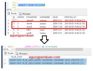 Generate Script Data SQL Server Menggunakan Query