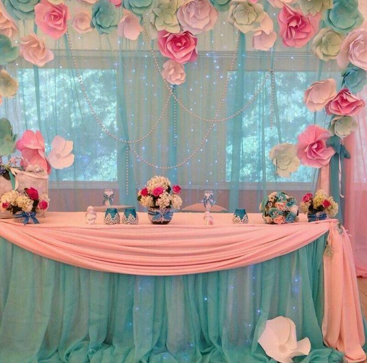 Manualidades e ideas para tus fiestas infantiles flores - Como hacer cadenetas de papel para fiestas ...