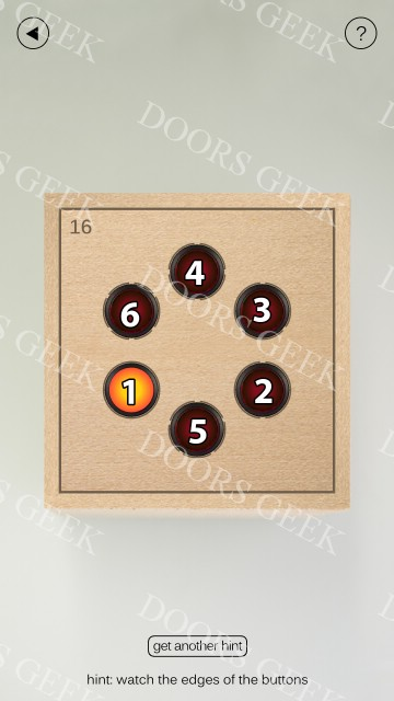 What 39 s inside the box level 16 solution doors geek for 16 door puzzle solution