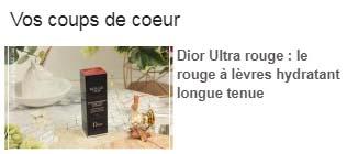 coup de coeur Inspilia Dior