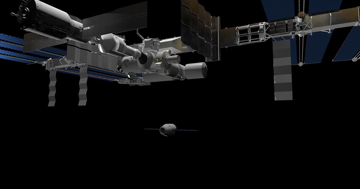 Desktopsimmer's 3D Models: ISS Renders with 3D models of ...
