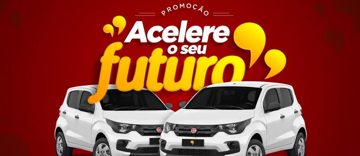 Promoção Acelere Seu Futuro Instituto Mix 2021 Cursos - Sorteio 2 Carros 0KM
