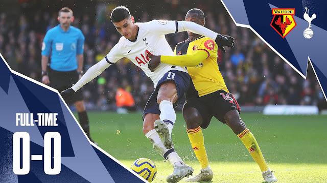 Watford 0-0 Tottenham, Gazzaniga Saves Penalty For Spurs (Details, Photo & Highlight)