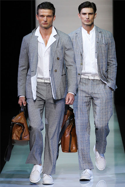 Image result for male model backstage armani