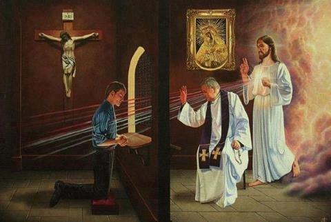 Image result for confession sacrament