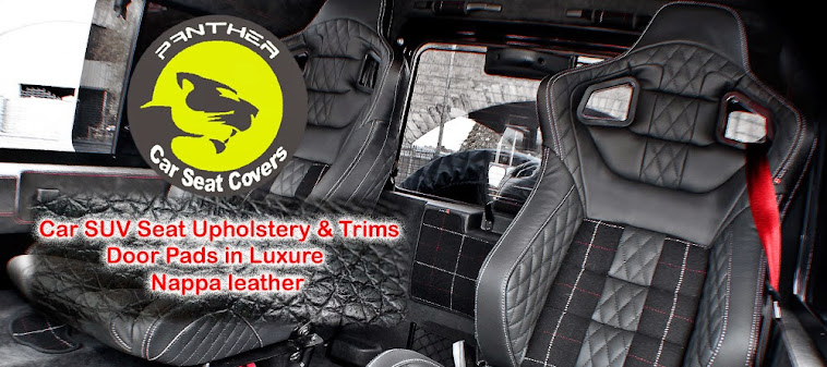Panther Car Seat Covers Car Seat Covers In Coimbatore Luxury Car