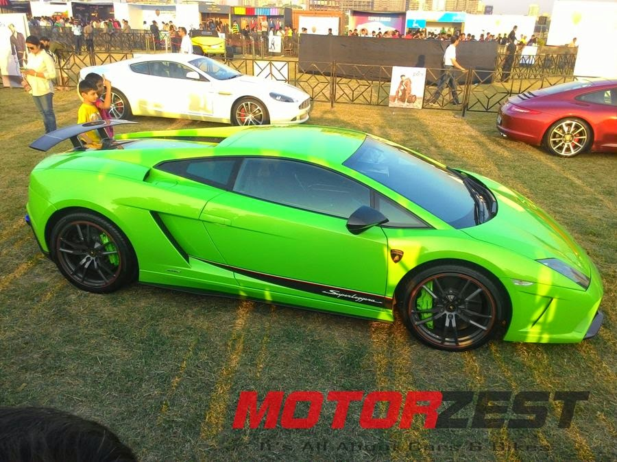 Lamborghini Superleggera at 2015 Parx Super Car Show in Mumbai