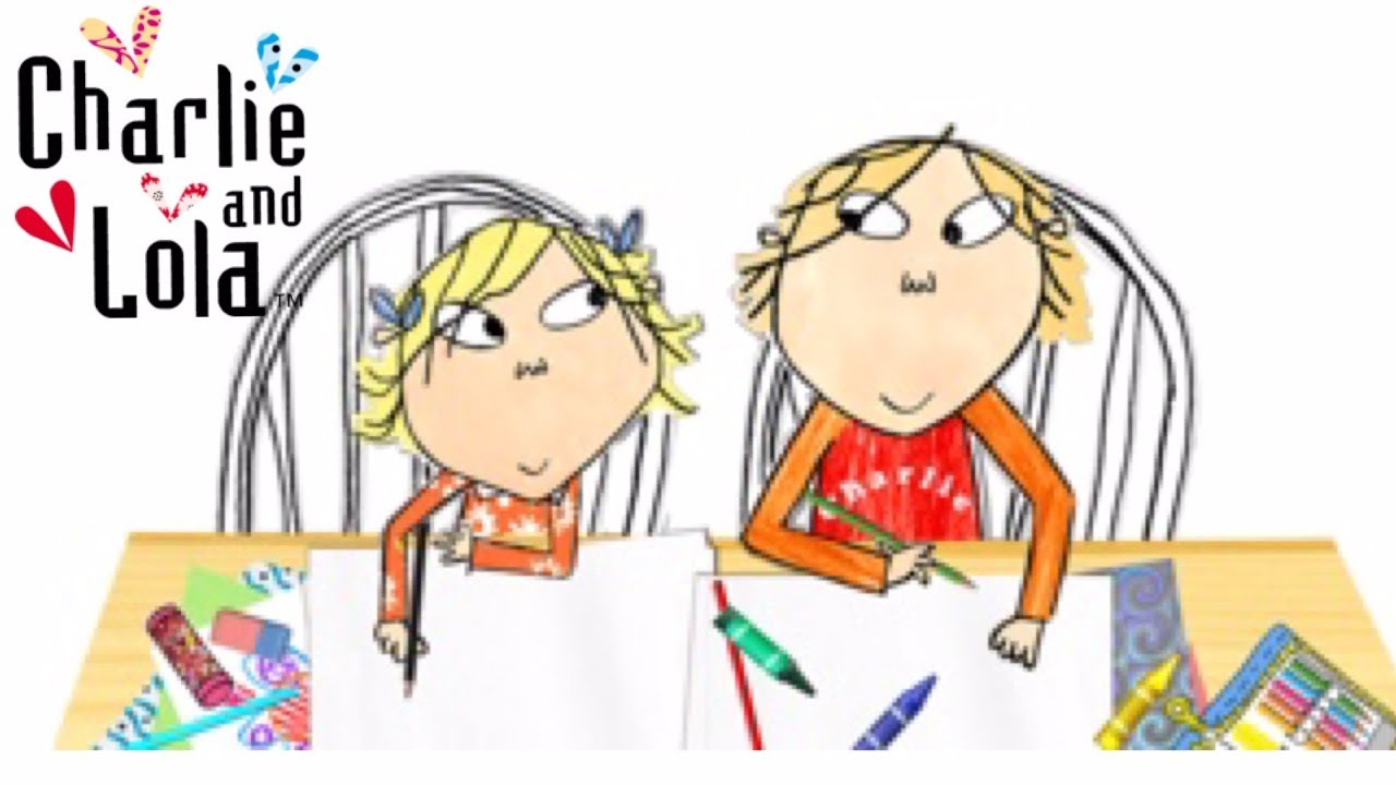 Charlie e Lola para colorir