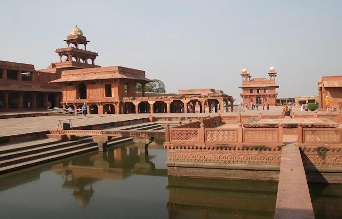 फतेहपुर सिकरी का इतिहास,जानकारी,मुख्य इमारते तथ्य मुग़ल बादशाह अकबर के खवाबों की नगरी  History, information, main building facts of Fatehpur Sikri, city of Mughal Emperor Akbar