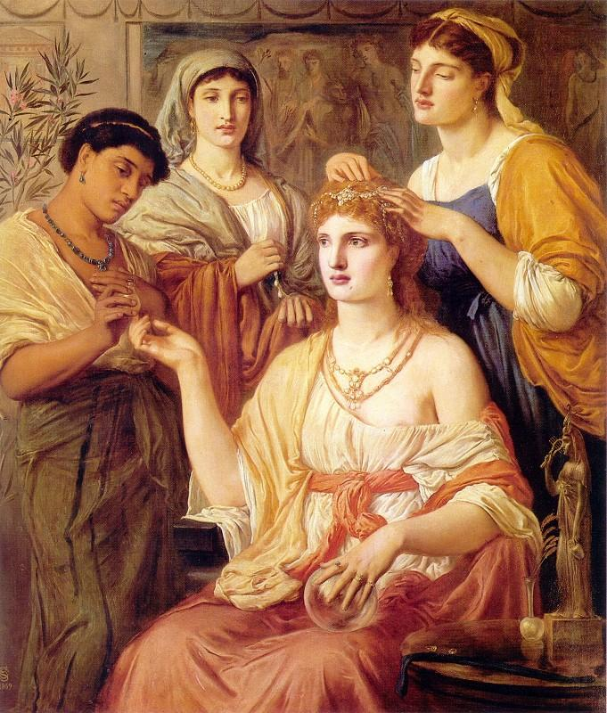 DOMVS ROMANA: Ornatus mulierum, maquillaje en la antigua Roma